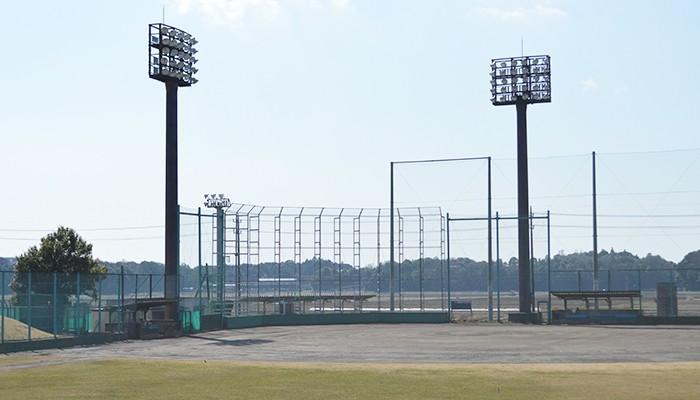 我孫子市民体育館 野球場