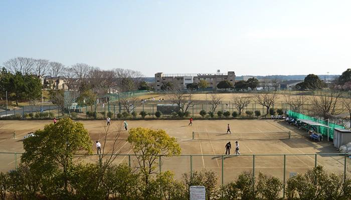 湖北台中央公園 テニスコート