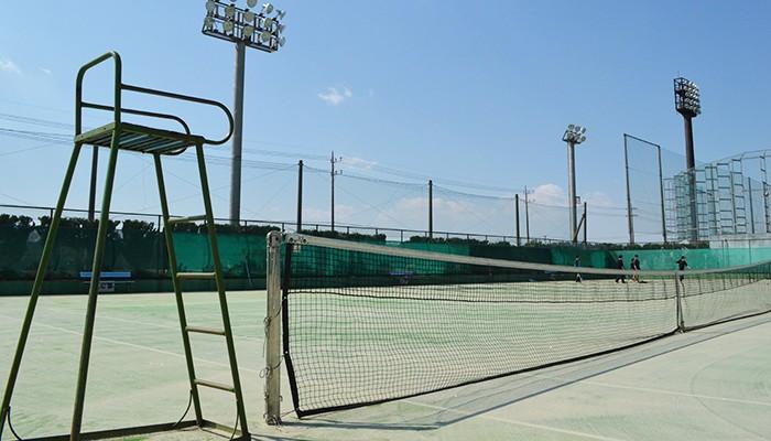 我孫子市民体育館 テニスコート